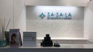 SASALAカウンター