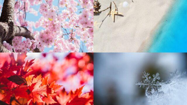 四季折々の風景